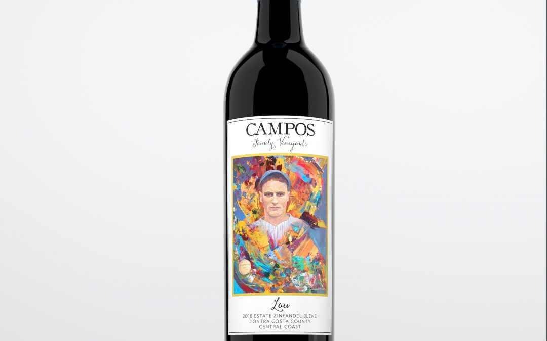 Campos Family Vineyards Announces an Officially Licensed Lou Gehrig Society Label